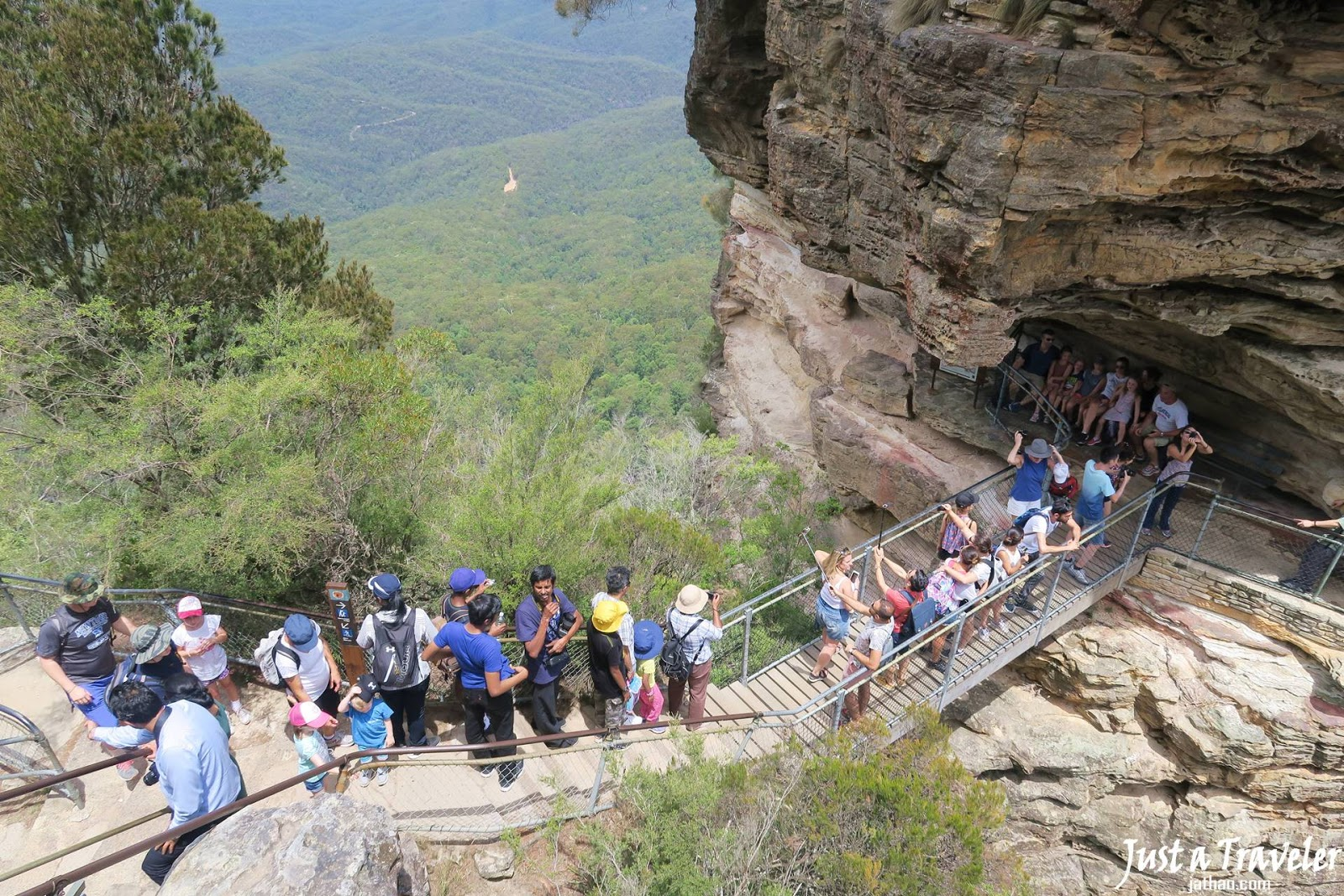 雪梨-景點-藍山-三姊妹岩-澳洲-Sydney-Blue-Mountains-Three-Sisters-Tourist-Attraction-Australia