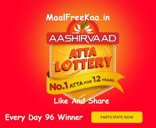 he AASHIRVAAD Atta Lottery – 12 years of No.1 Atta