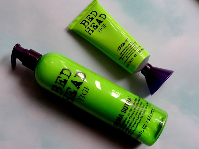 BedHead by TIGI Calma Sutra Cleansing Conditioner & Screw It Curl Hydrating Jelly Oil