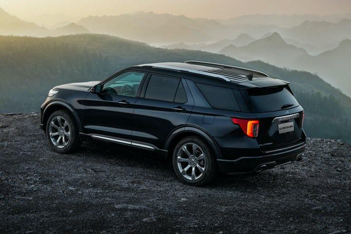 Ford tung Explorer Trung Quốc với thiết kế khác biệt, giá chỉ bằng nửa bản nhập - Ảnh 2.