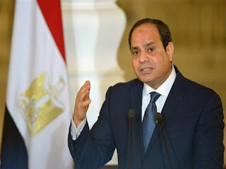 """تعليق الرئيس المصري عبد الفتاح السيسي على """" عاصفة التنين """""""