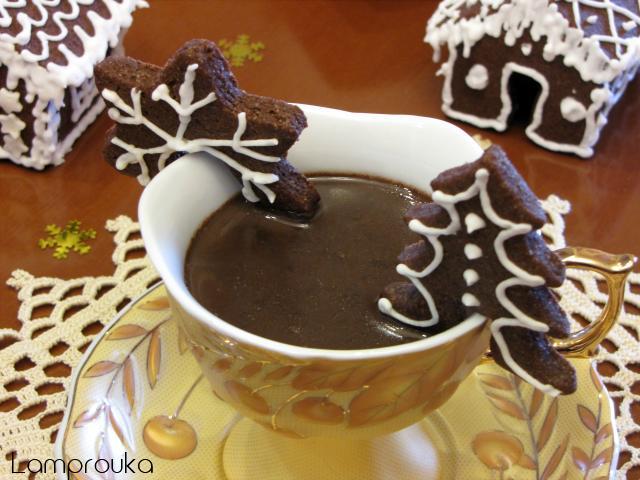 Ζεστή σοκολάτα ρόφημα.
