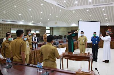 Wakil Walikota Tangerang Melantik 34 ASN
