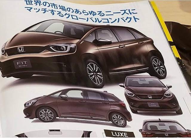 Novo Honda Fit Híbrido 2021