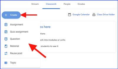 How to create google classroom in hindi