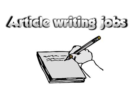 article writer positions