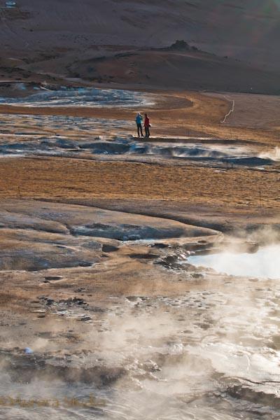 アイスランド北部、ナゥマフィヤットル
