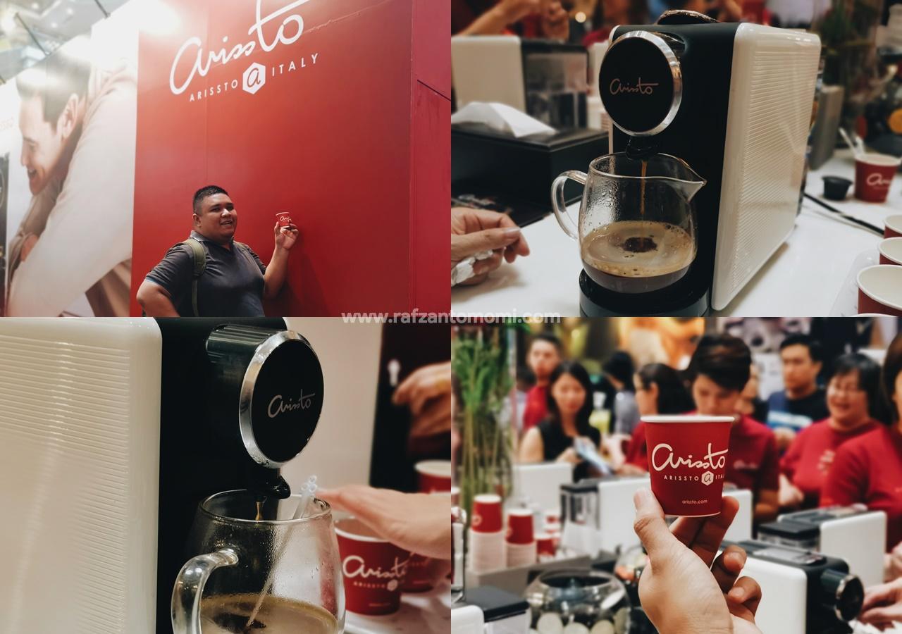 Arissto Italian Coffee - Sewa Mesin Kopi Dengan Harga RM1?