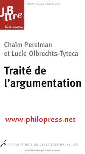 """كتاب """"رسالة في الحجاج"""" ل:شايم بيرلمان ولوسي أولبريخت"""