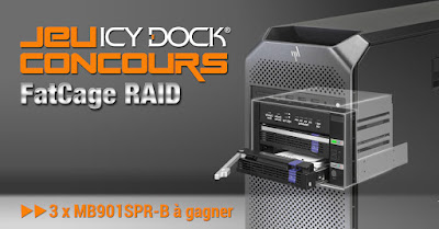 Jeu Concours FatCage RAID MB901SPR-B