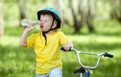 Ingesta diaria líquidos niños