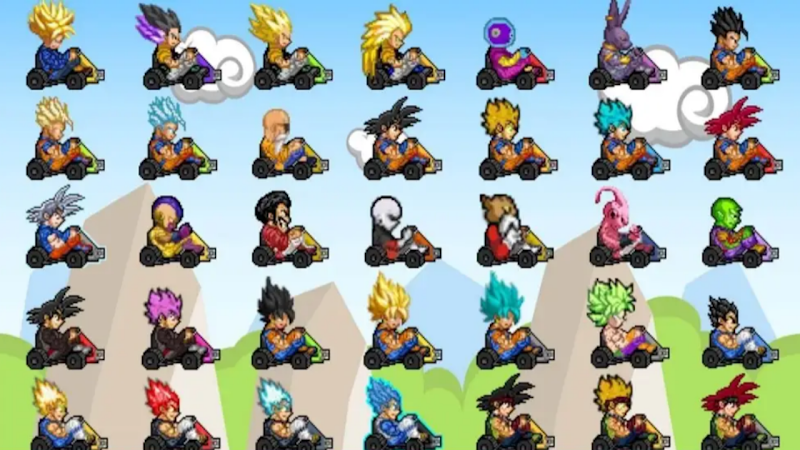 Dragon Ball Z Games Kart Racing Download for android