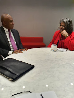 Bukola Saraki Visits Senior President Albright Stonebridge In Washington (Photo)