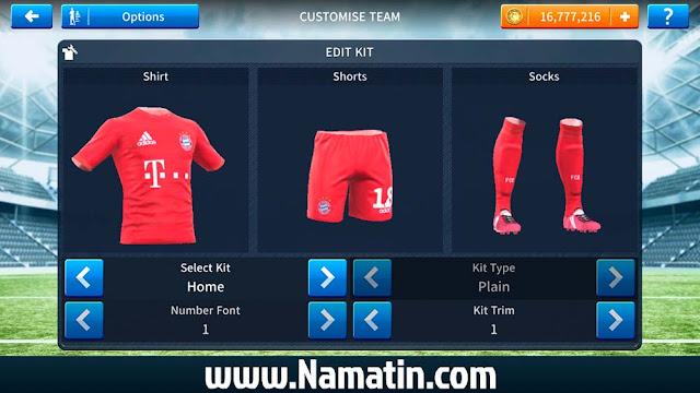 Kit Dream League Soccer FC bayern