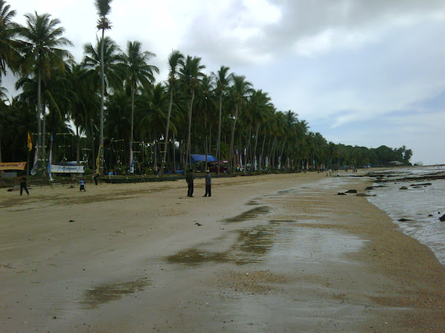 wisata Kalimantan Utara Pantai batu Lamampu