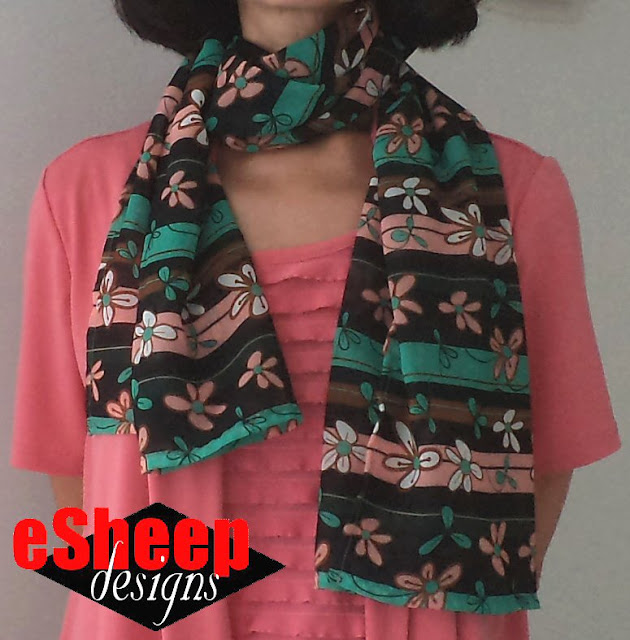 Chiffon Scarf by eSheep Designs