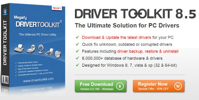 Download Driver Toolkit 8.5 License Key Crack Email 100% Working