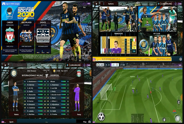 Download DLS 2020 Mod Inter Milan Hd Graphics