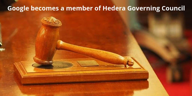 Google becomes a member of the Hedera Governing Council