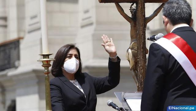 Delia Muñoz, ministra de Justicia