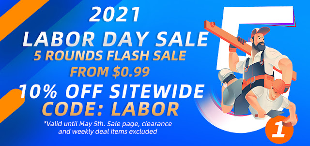 Here's an amazing sale for your Labor Day!