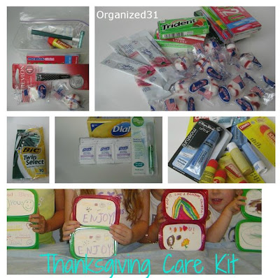 Thanksgiving Care Kits