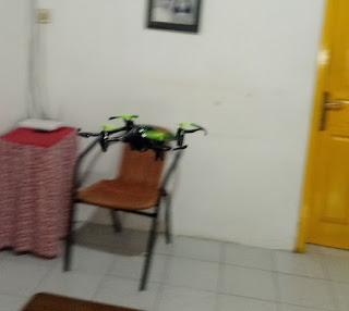 Review JJRC H48 Drone Dengan Transmitter Unik Terbaik