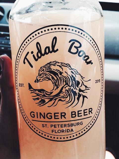 tidal boar ginger beer, guava ginger beer, lauren banawa, st petersburg, indie market