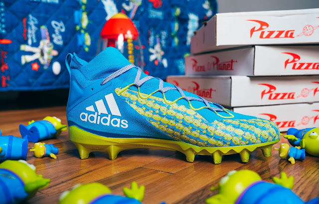 Adidas Toy Story Friendship Collection Aliens x Freak football cleat
