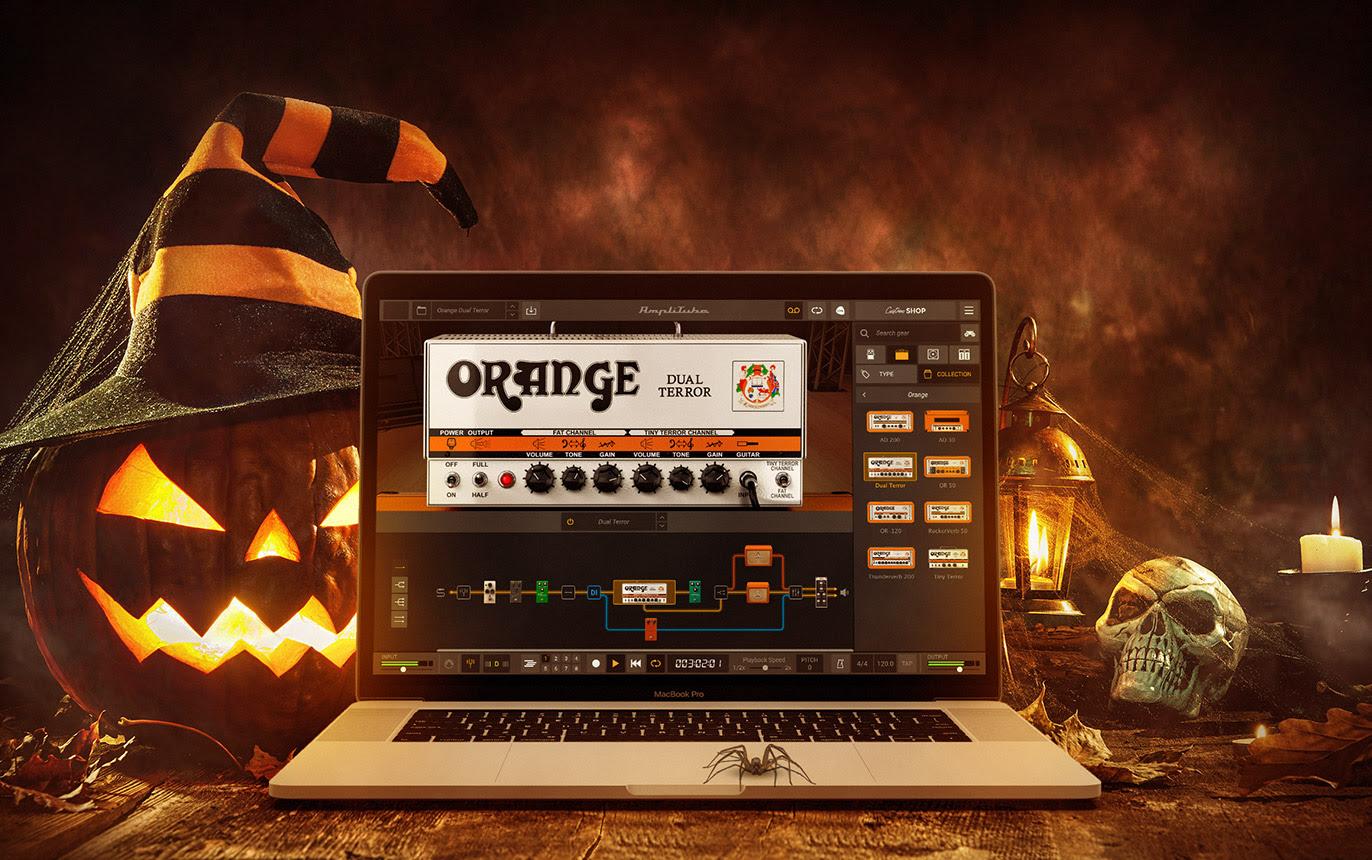 IK Multimedia Giveaway - Orange Dual Terror
