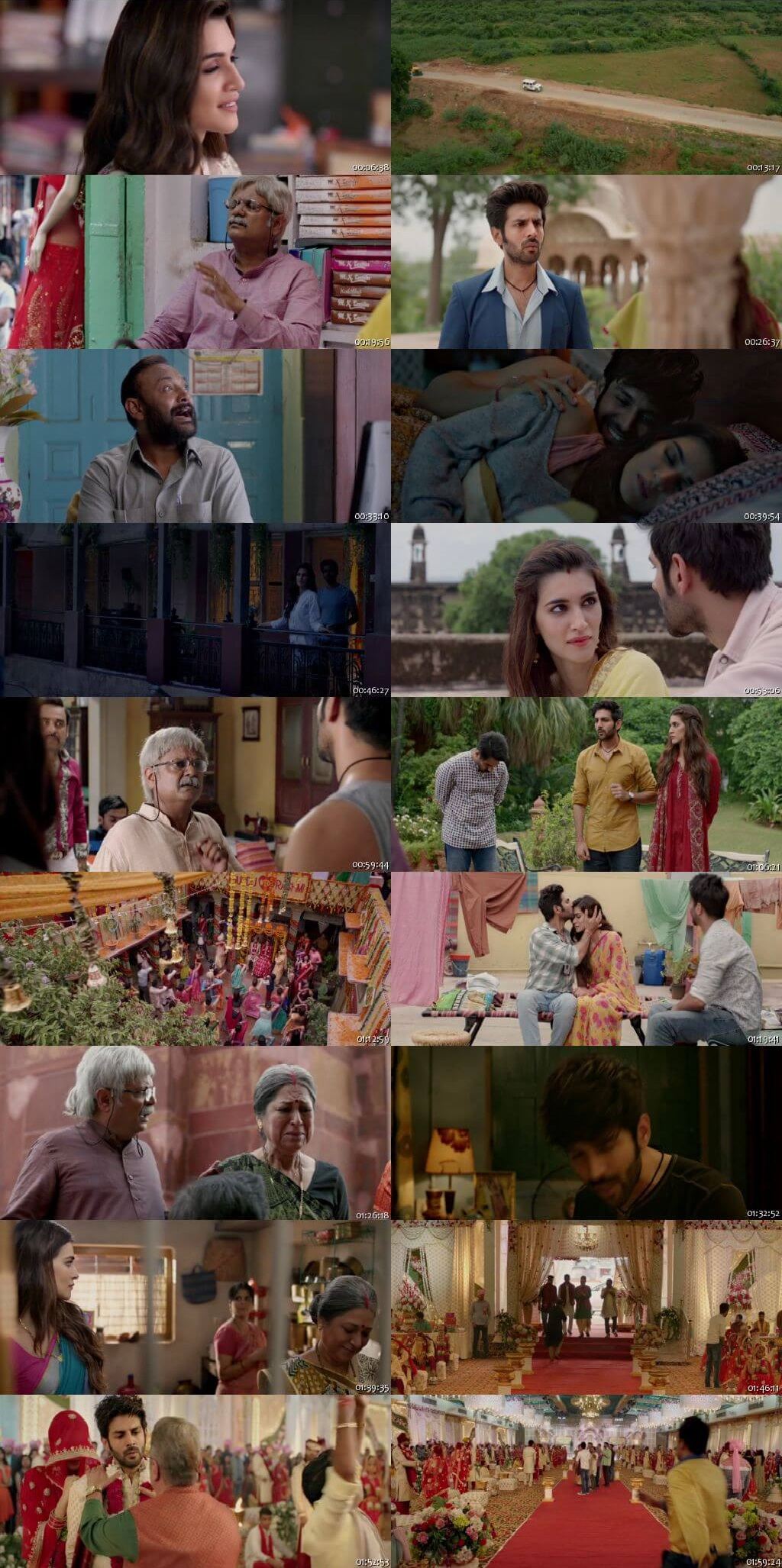 Screen Shot Of Luka Chuppi 2019 300MB HDRip 480P Full Hindi Movie Watch Online Free Download