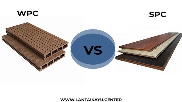 perbedaan flooring SPC dan lantai WPC