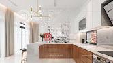Thiết kế nội thất biệt thự phong cách kiến trúc hiện đại đẹp - Mã số NT4025 - Ảnh 1