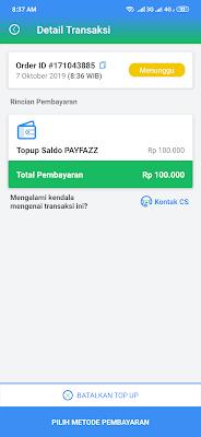 deposit payfazz