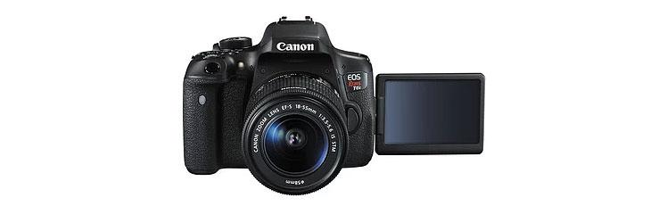 Canon EOS 750D Rebel T6i DSLR Camera