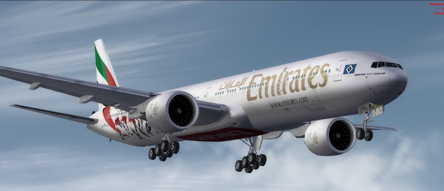 Download Emirates Boeing 777-300ER FSX/P3D