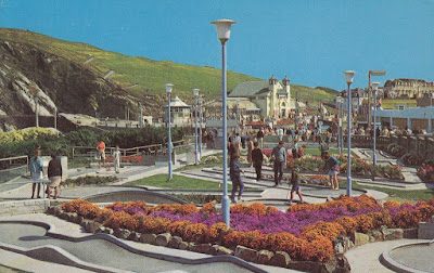 Mini Golf Course. Sea Front. Ilfracombe. Taw Valley Wholesale Co.