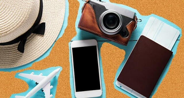 peralatan kamera travelling