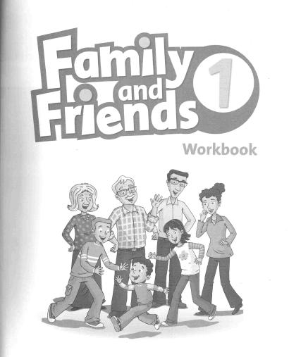 كتاب النشاط لغة انجليزية Workbook Family and Friends 1 الصف الأول ابتدائي