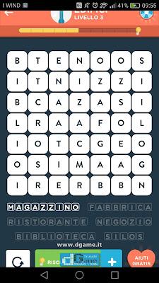 WordBrain 2 soluzioni: Categoria Edifici (7X7) Livello 3