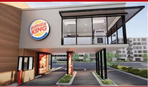 MOBILE ORDERING IS THE CENTERPIECE OF BURGER KING'S NEW DESIGN