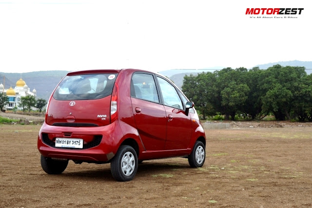 Tata Nano GenX Easy Shift Review Exteriors