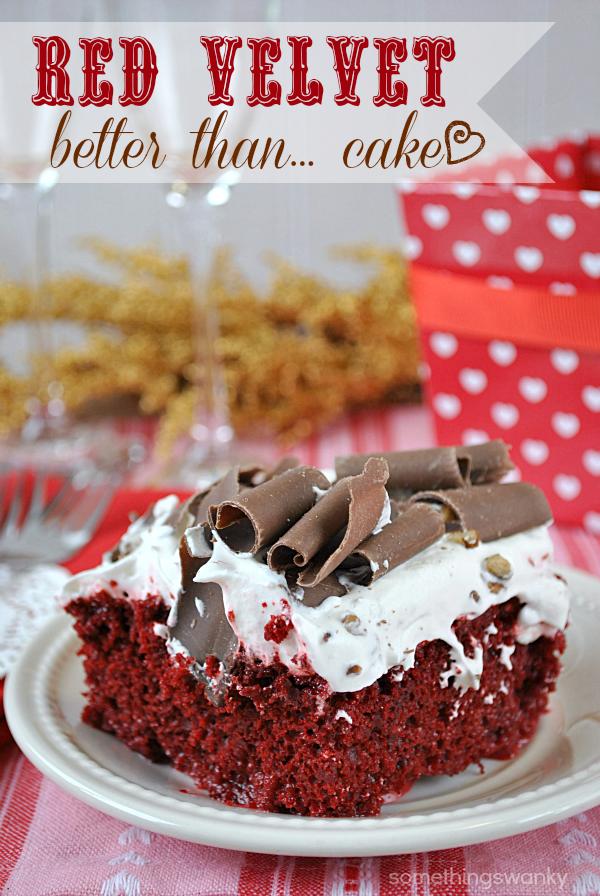 Red Velvet Cake Mix Souffle