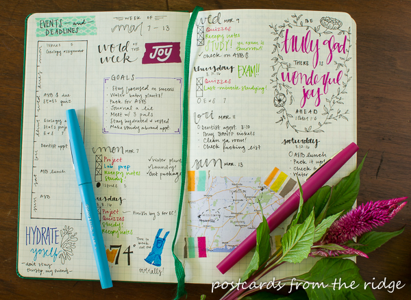 Great tips for getting started with bullet journaling.