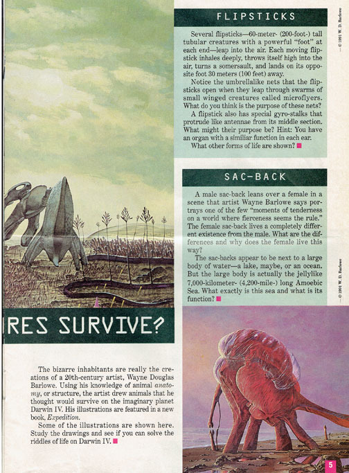Trish Babbles: Let's Read a Weird Preview of Barlowe's ... Wayne Barlowe Expedition 2