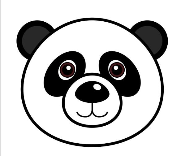 Gambar Panda Hitam Putih Terbaru Terlengkap Untuk Anak
