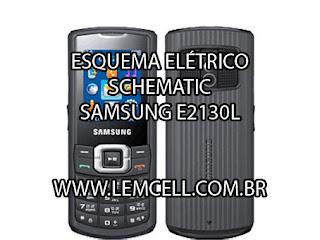 Esquema Elétrico Celular Smartphone Celular Samsung E2130 Manual de Serviço  Service Manual schematic Diagram Cell Phone Smartphone Celular Samsung E2130