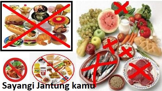 Inilah 9 Daftar Makanan Yang Tidak Boleh Di konsumsi Penyakit Jantung