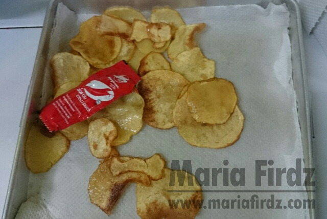 Cubaan Buat Homemade Potato Chip!