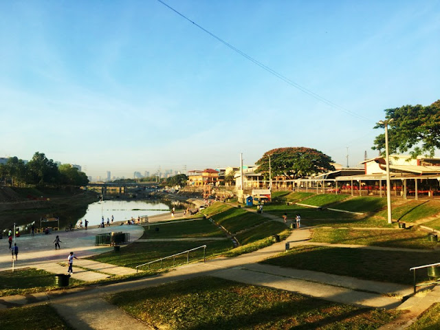 Marikina River Park sometimes referred to as Riverbanks Park is a recreational park along Marikina River